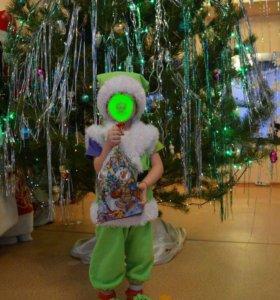 Карнавальный костюм ГНОМИК для мальчика 3-4 года