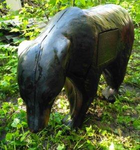 3D мишень для стрельбы из арбалета Чёрный Медведь
