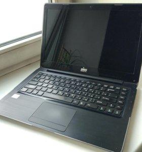 """Ноутбук DNS 14"""" i3, 8GB RAM, SSD30, HDD500, 1.5 kg"""