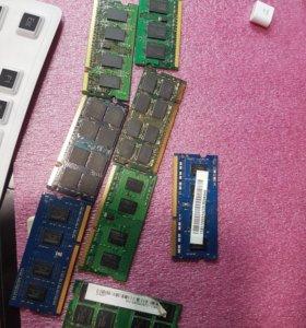 Оперативная память на ноутбук
