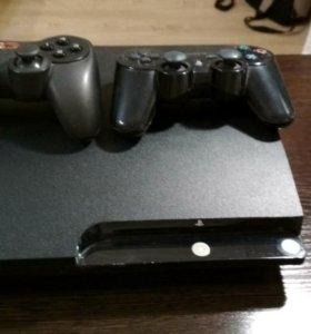 PS3 SLIM(прошитый)
