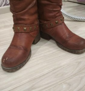 Ботинки,теплые