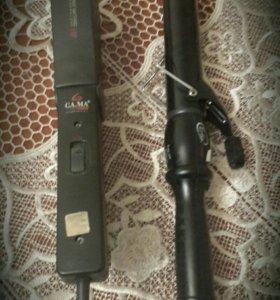 Утюжек GA.MA Ceramic HP и плойка для волос