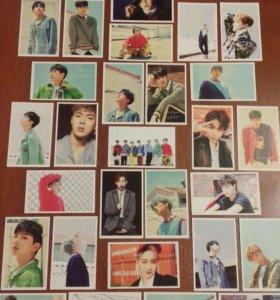 Карточки корейской группы Monsta X