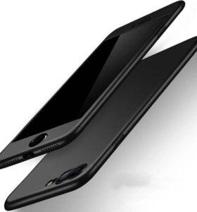 Новый Чехол на айфон 6 плюс (черный)