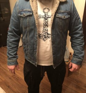 Куртка джинсовая (Mango man)