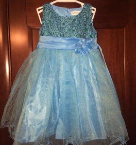 Платье праздничное на 3 года