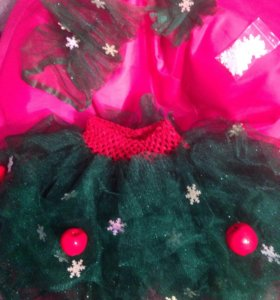 Новогодний костюм ёлочка