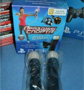 PS3 Муви, камера , спортивные игры
