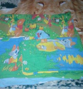 Комплект детского постельного белья для кроватки