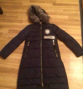 Куртка зимняя новая,размер s