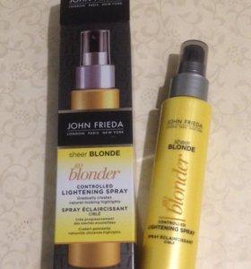 Осветляющий спрей для волос John Frieda