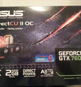 Asus Geforce GTX 760 2GB