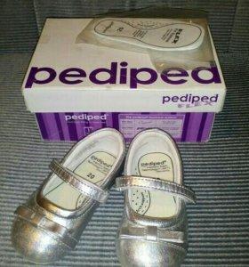 Кожаные туфельки Pediped (USA) 20р в идеале