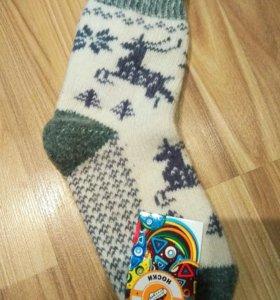 Новые женские шерстяные носки