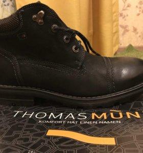 Зимние мужские ботинки Новые 43