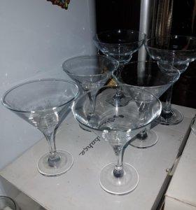 Нр 4шт бокалы мартини