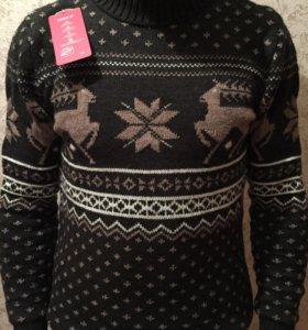 Рождественские шерстяные свитера. Размер L