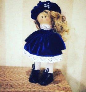 Интерьерная кукла ручной работы + подарочный пакет