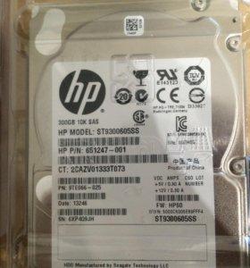 HP 300GB SAS 10K SFF HDD