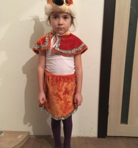 Детский костюм белочки.