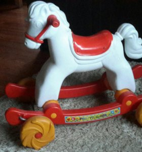 Лошадка качалка-каталка