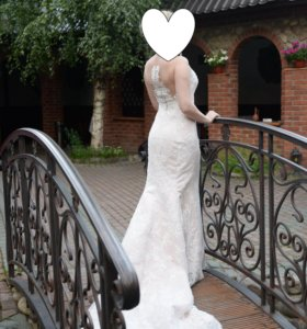 Свадебное платье,русалочка