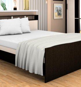 Кровать Сабрина 160х200 см с матрасом