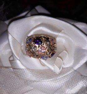 золотое кольцо 18