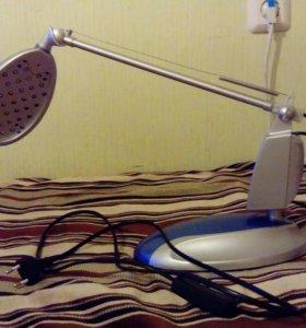 Электронная настольная лампа