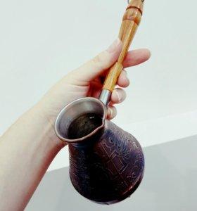 Медная турка для кофе 250мл