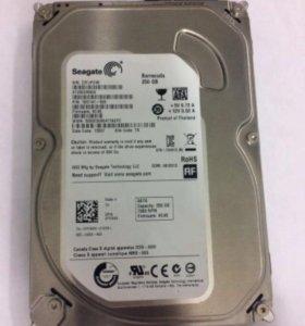 Жесткий диск Seagate 250 Гб, SATA