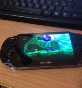 PS vita + 32gb + игры