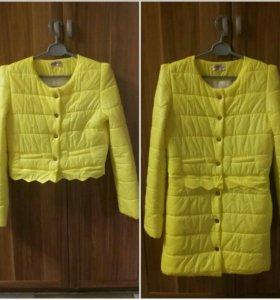 Пальто-куртка 42-44р.