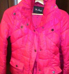 Куртка зимняя guess