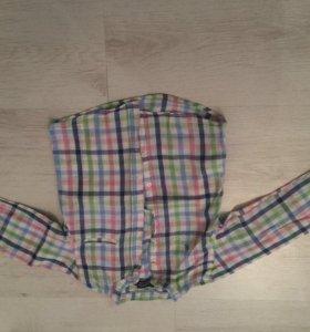 2 Рубашки для мальчика 104см