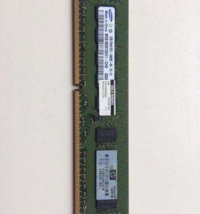 Оперативная память 2Гб, DDR3, 399 мгц