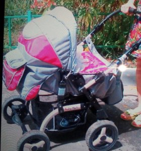 Детская коляска зимняя