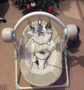 Детские качели baby care