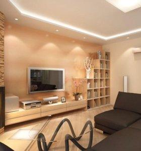 производим ремонт квартир, офисов и коттеджей