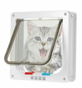 Дверца для кошки. Новая