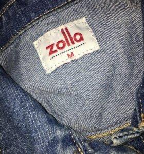 джинсовая куртка zolla