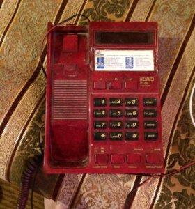 Телефон с автоответчиком и определителем