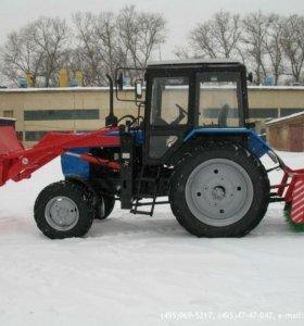 Услуги трактора МТЗ 82.с щеткой