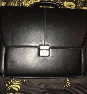 Кейс, кожаный портфель!Оригинал‼️‼️‼️