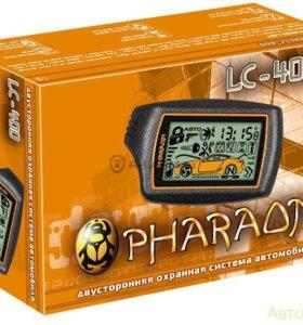 Сигнализация на авто с автозапуском Pharaon LC-400