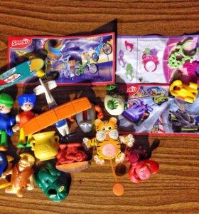Игрушки Киндер/Kinder (набор 2)