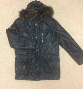 Куртка пуховик (мужская) зима Размер 2XL