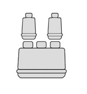 Чехлы автомобильные велюр МегАвто Chevrolet Lanos