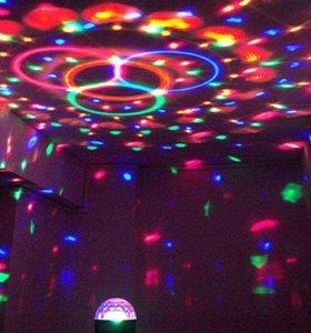 MP3 светодиодный диско шар